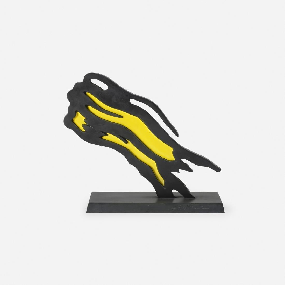 Roy Lichtenstein, Weisman Award (Yellow Brushstroke)
