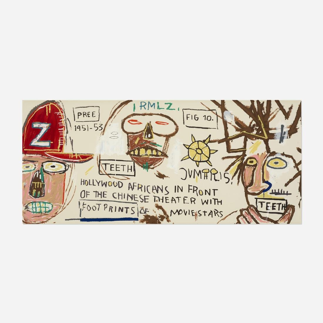 Jean-Michel Basquiat, Hollywood Africans...