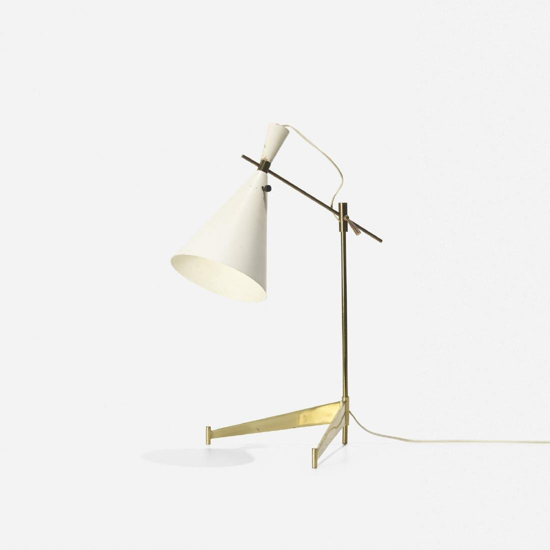 Paul McCobb, E7 table lamp