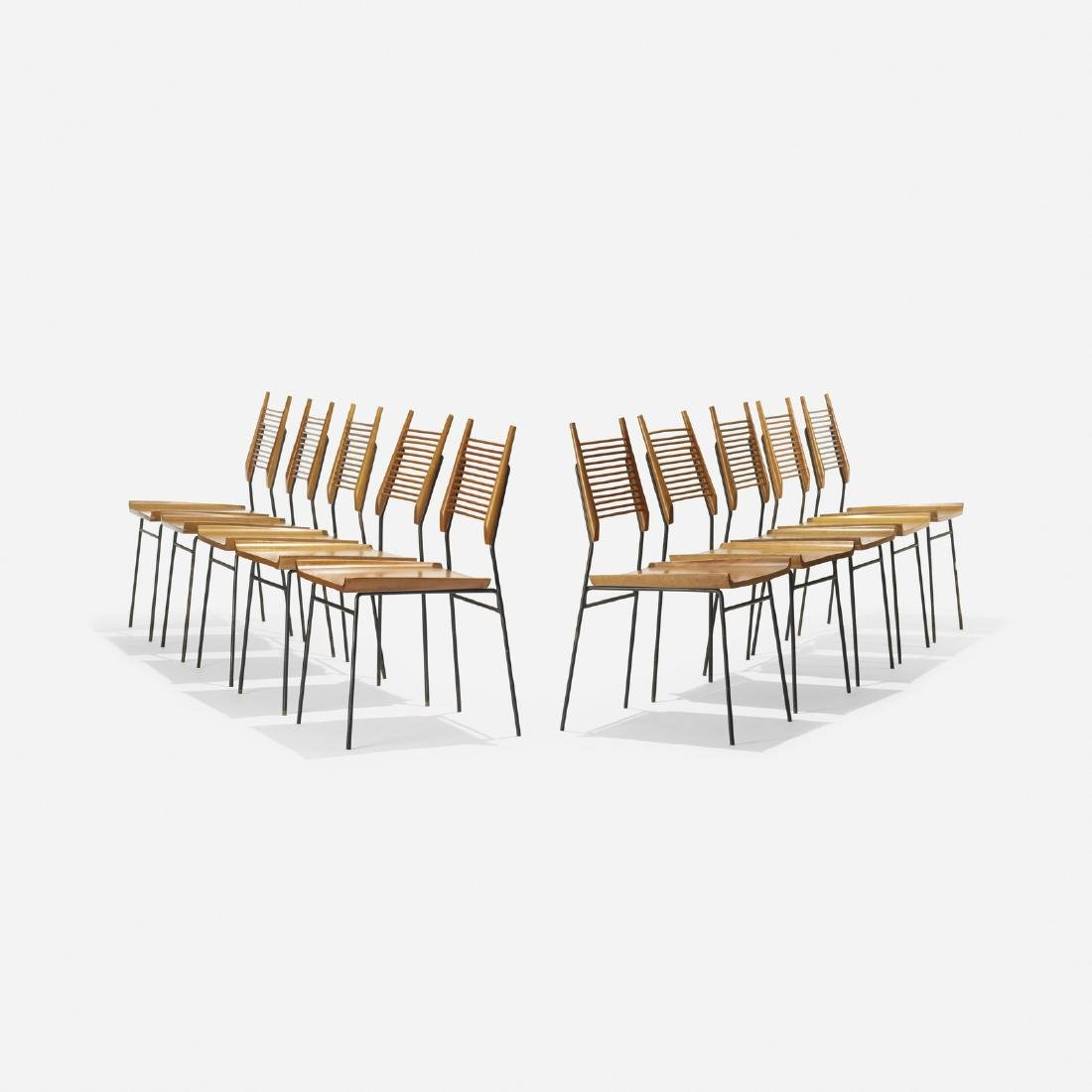 Paul McCobb, Planner Group dining chairs, set of 10
