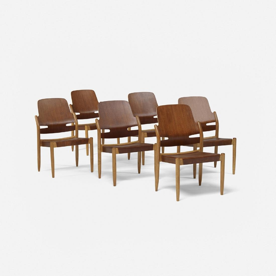 Carl-Axel Acking, dining chairs, set of six