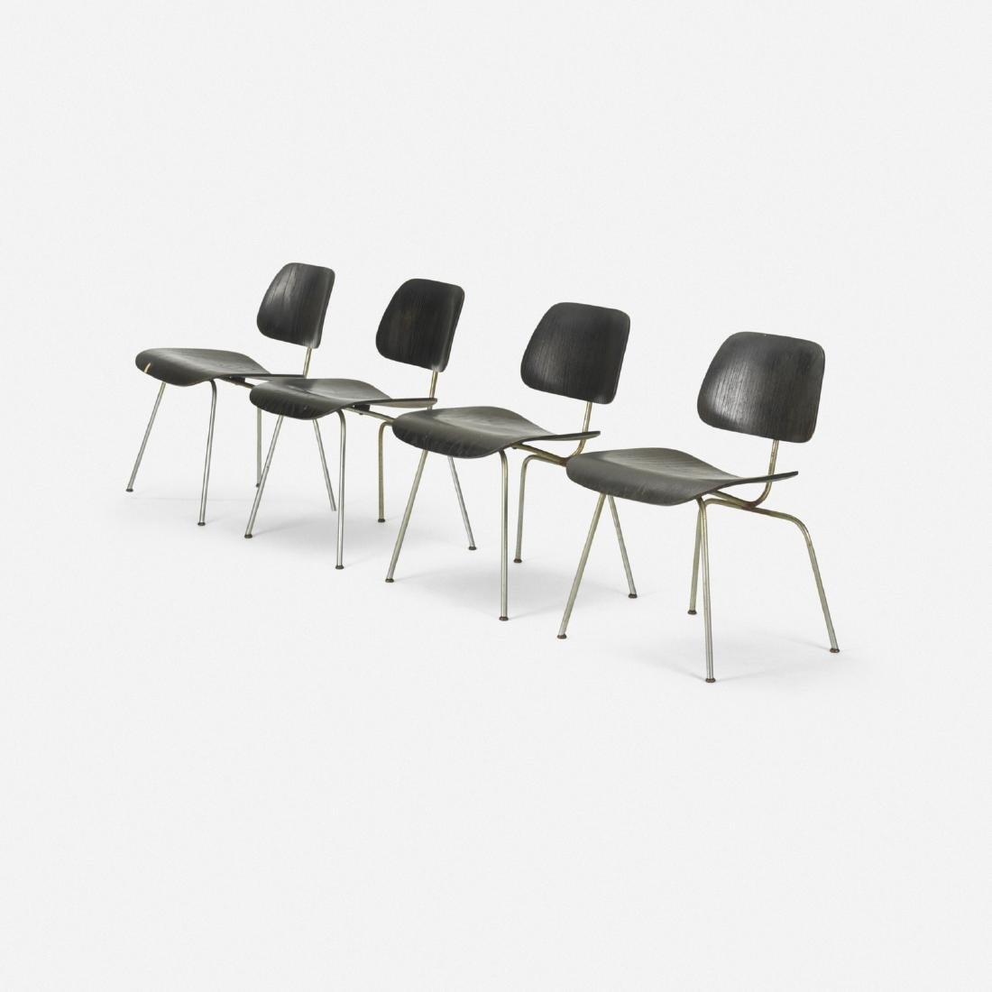 Charles and Ray Eames, DCMs, set of four