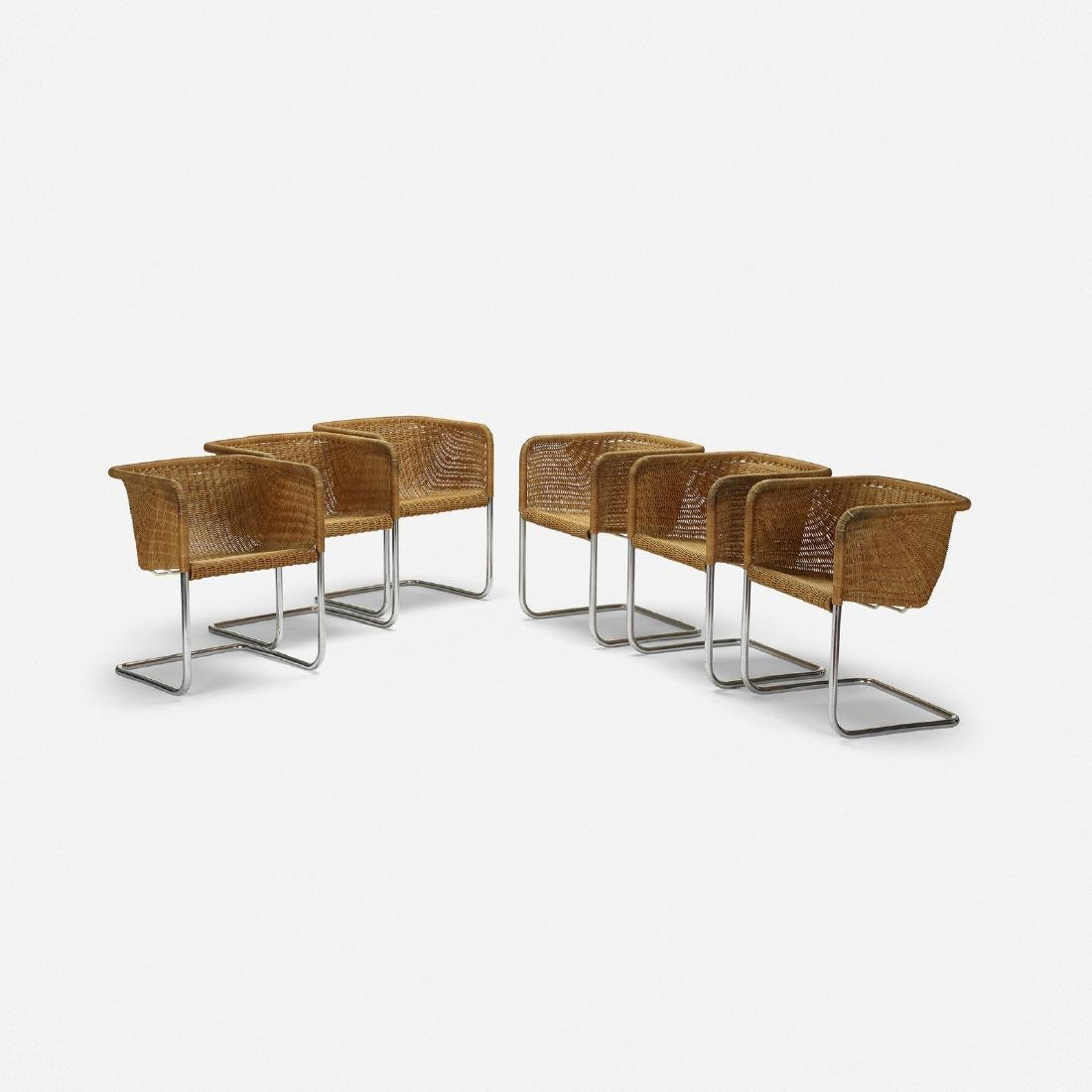 Preben Fabricius & Kastholm, dining chairs, set of 6