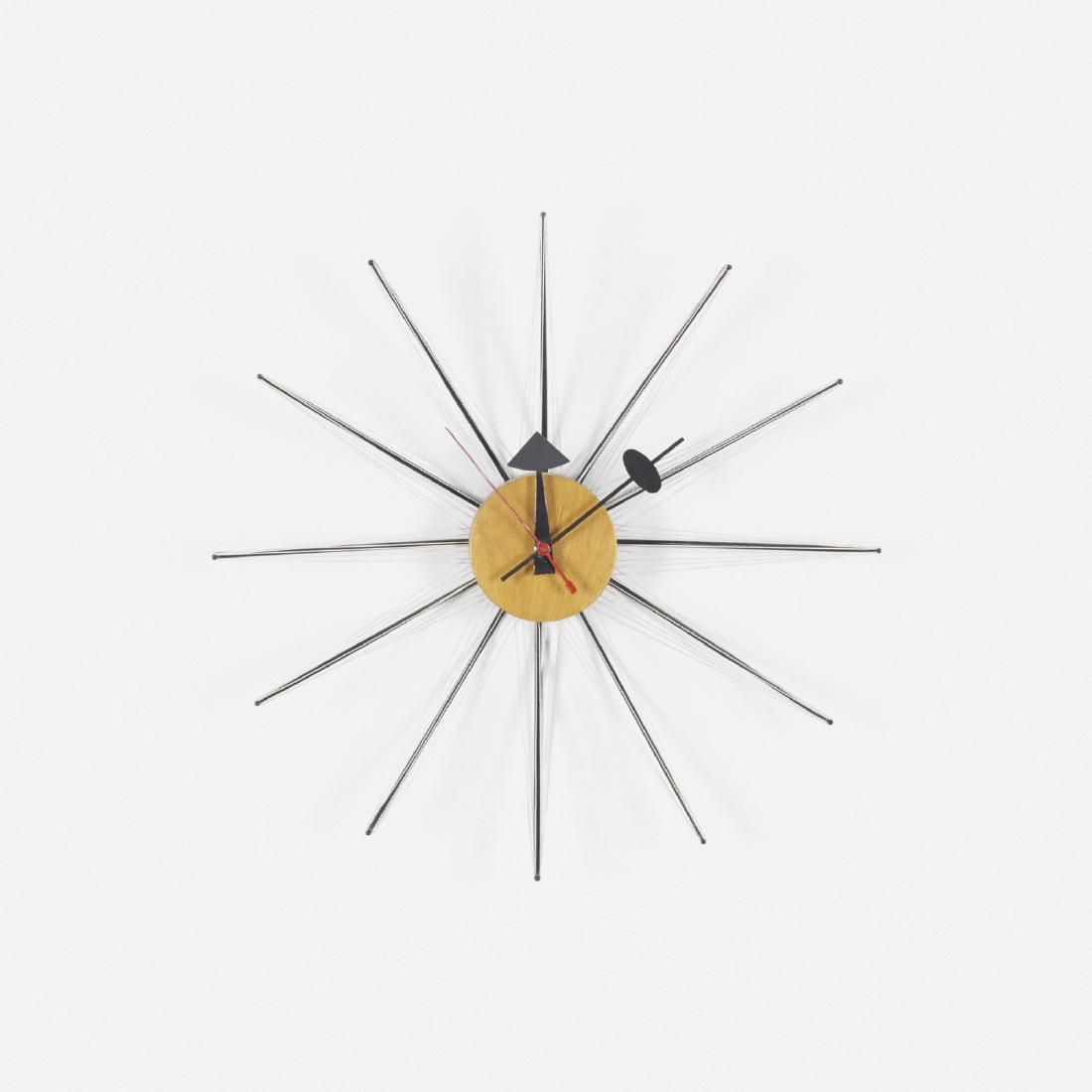 George Nelson & Associates, String wall clock, model
