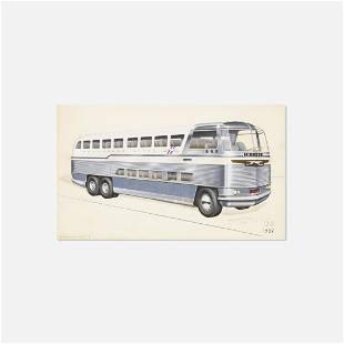Raymond Loewy, Greyhound Bus