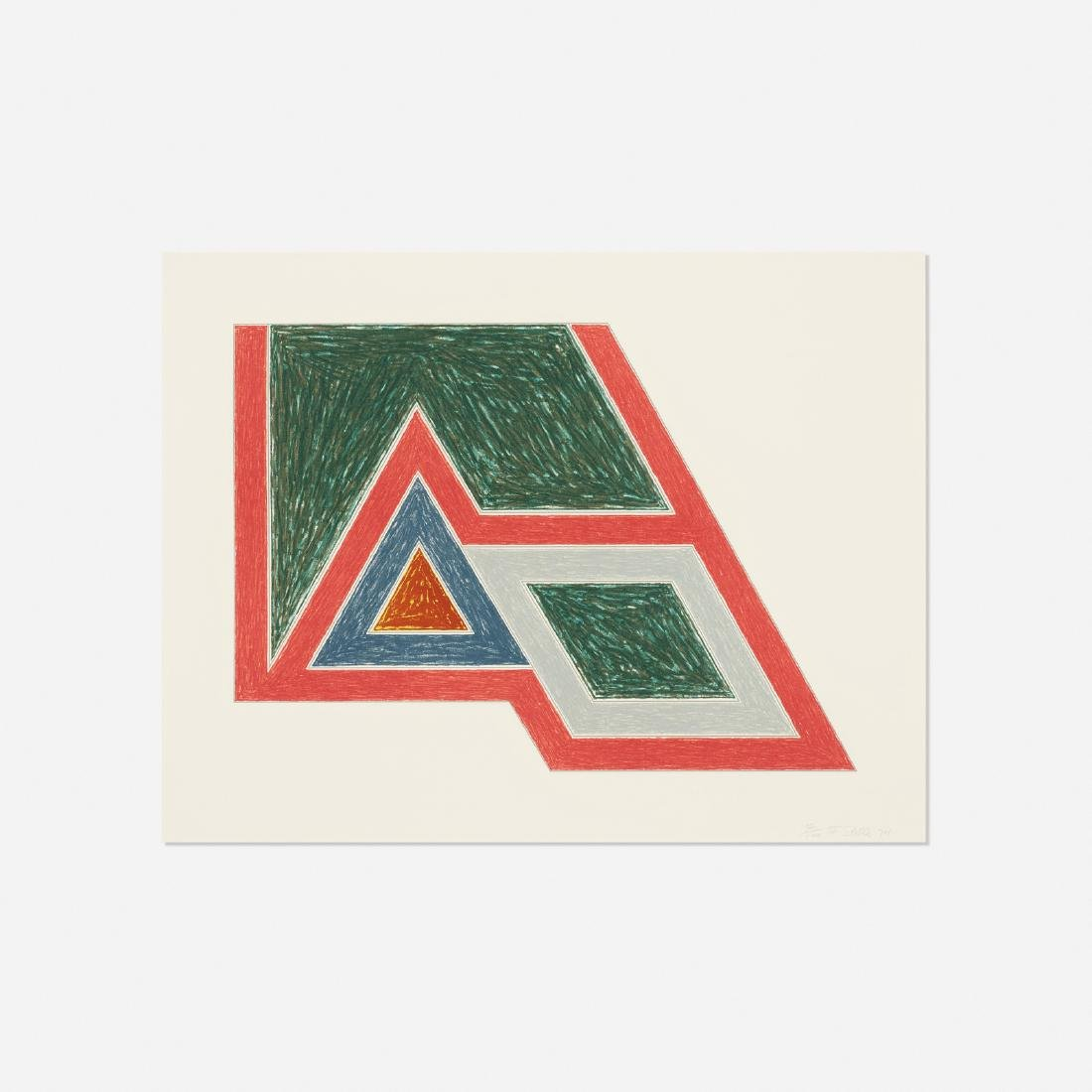 Frank Stella, Sanbornville (from the Eccentric Polygons