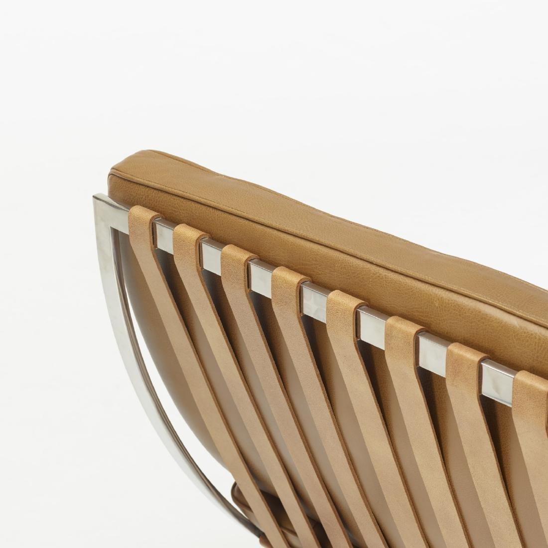 Ludwig Mies van der Rohe, Barcelona chairs, pair - 3
