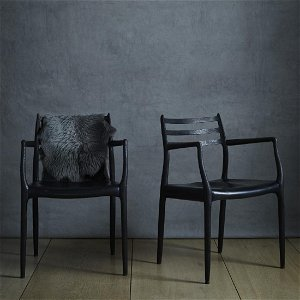 Niels O. Moller, dining chairs, pair