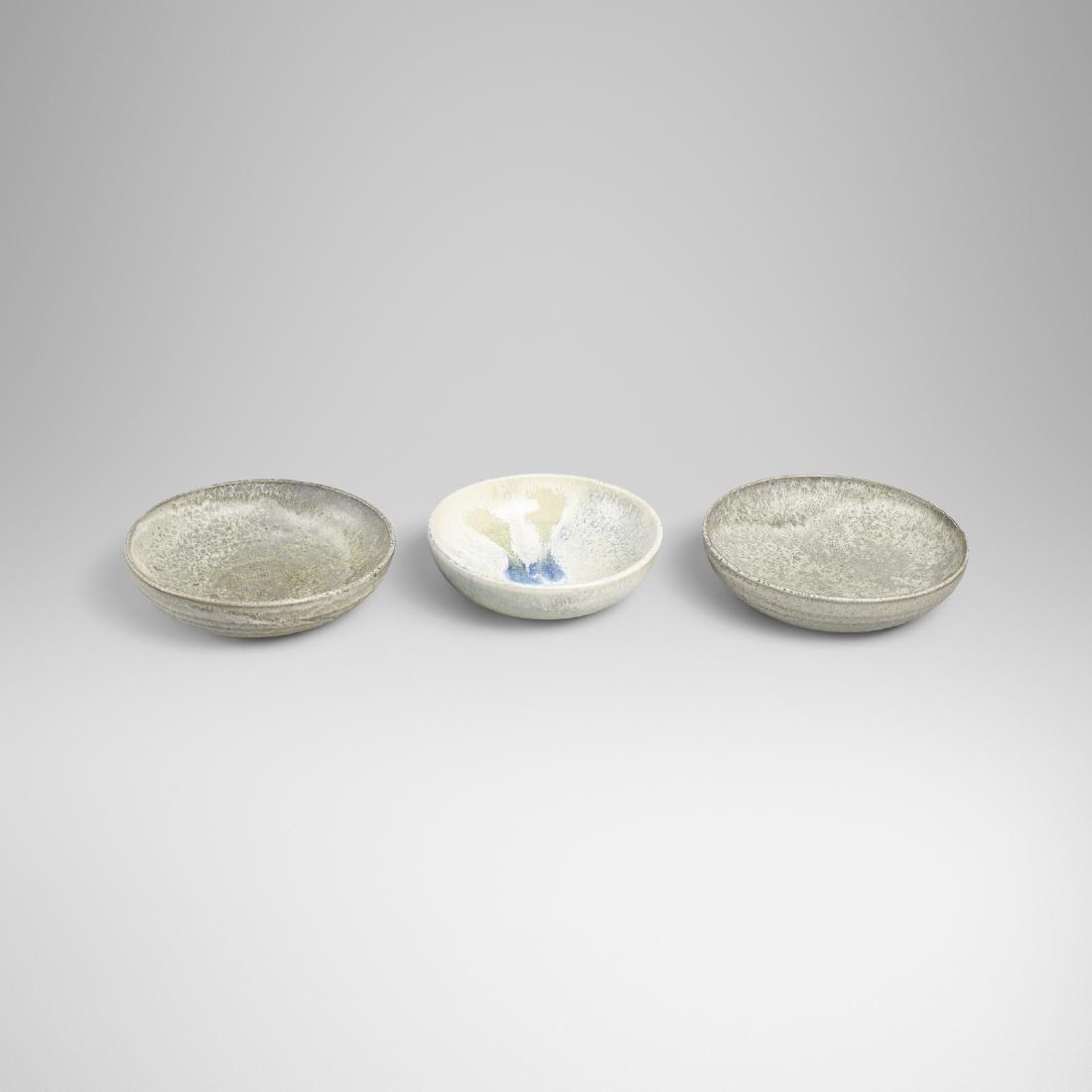 Aage and Kasper Wurtz, bowls, set of three