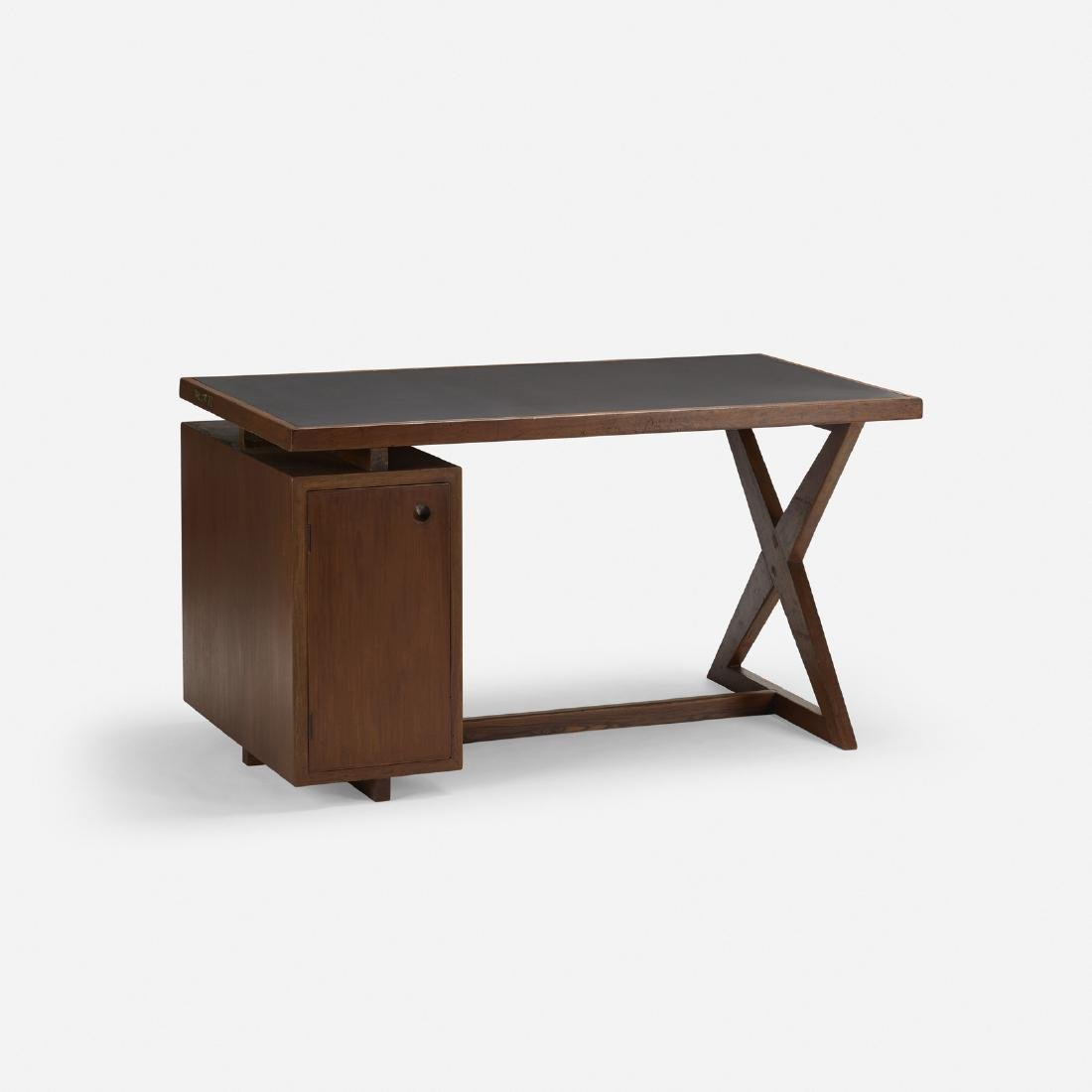 Pierre Jeanneret, desk and chair from Chandigarh - 3