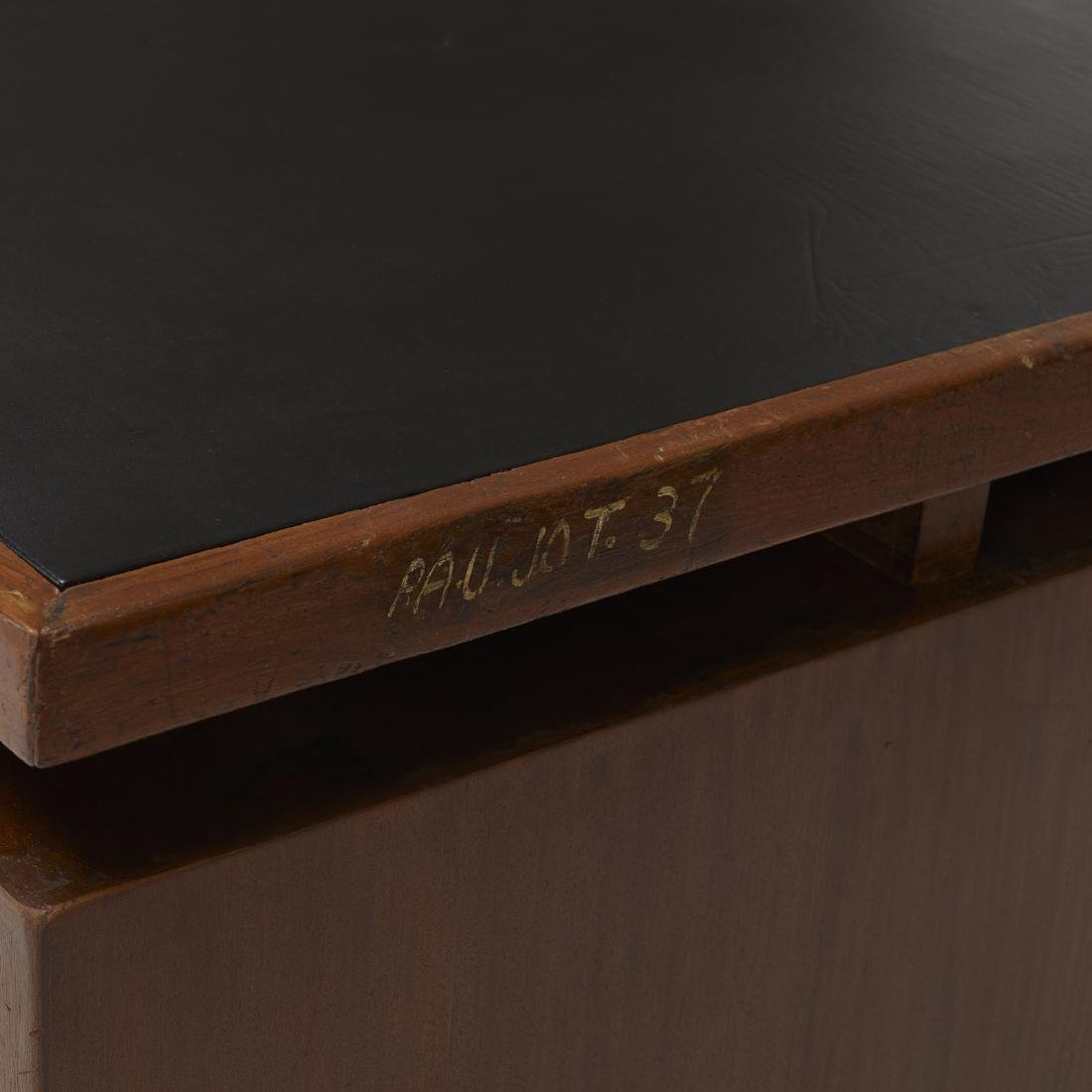 Pierre Jeanneret, desk and chair from Chandigarh - 5