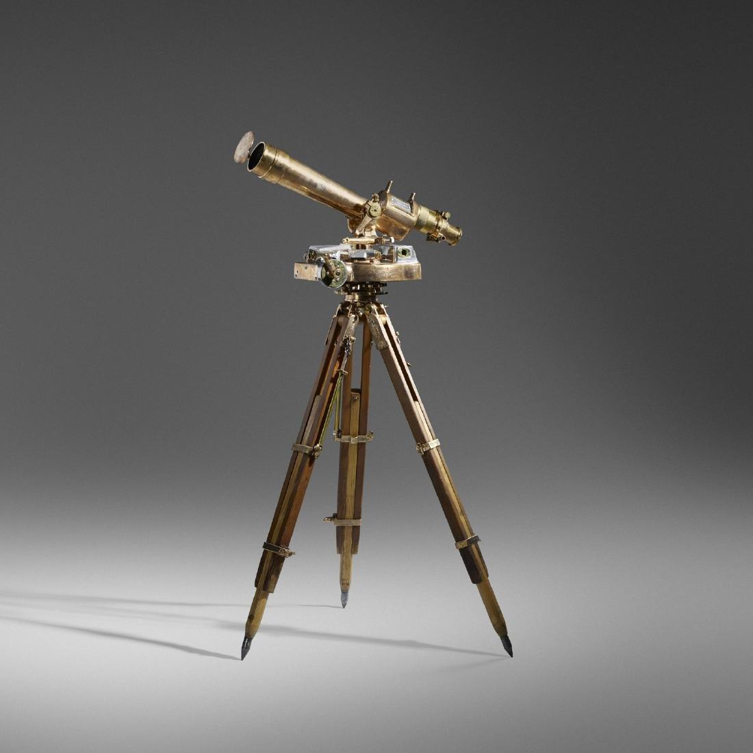 The Herschede Hall Clock Co., Artillery scope, tripod