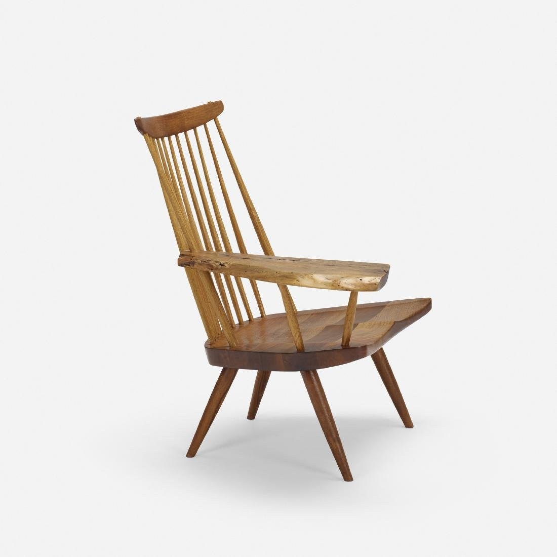 George Nakashima, Slab Arm lounge chair