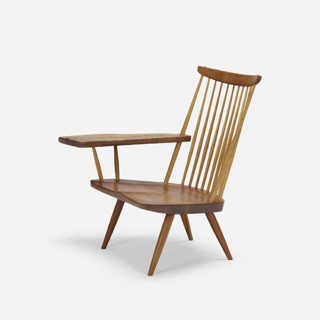 George Nakashima, Slab Arm lounge chair - 3