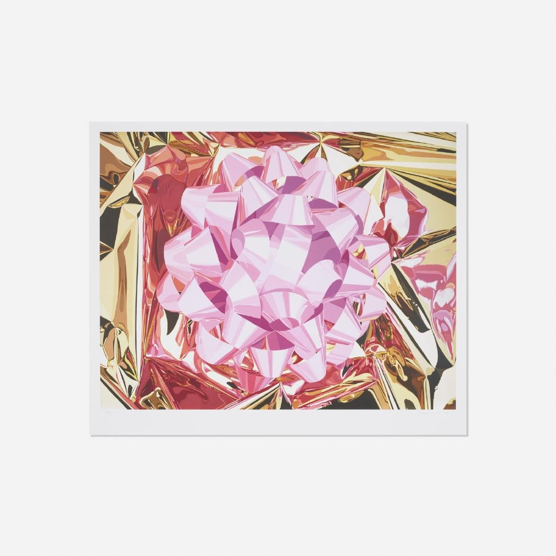 Jeff Koons, Pink Bow (from the Celebration Series)