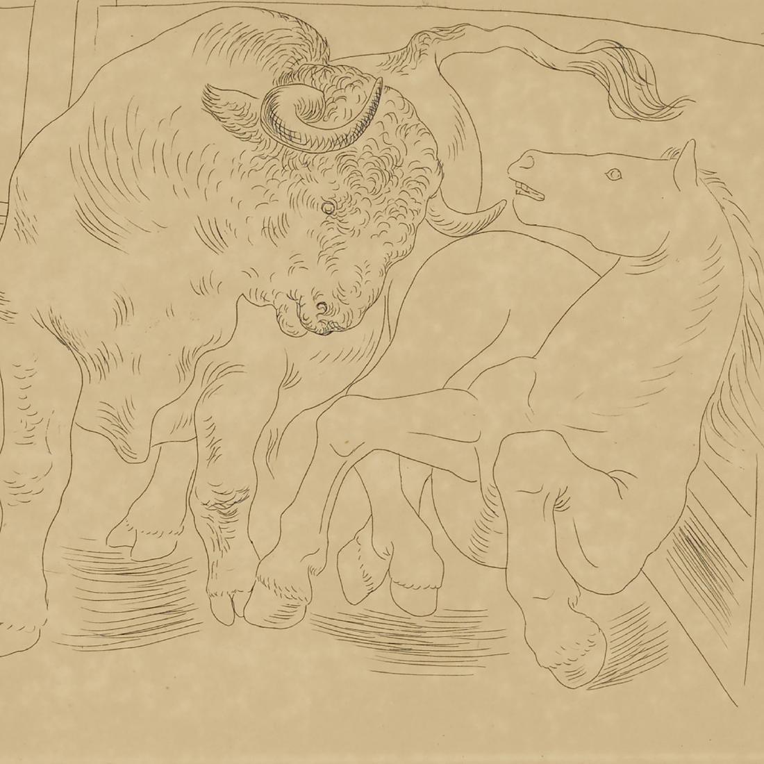 Pablo Picasso, Taureau et Cheval - 2