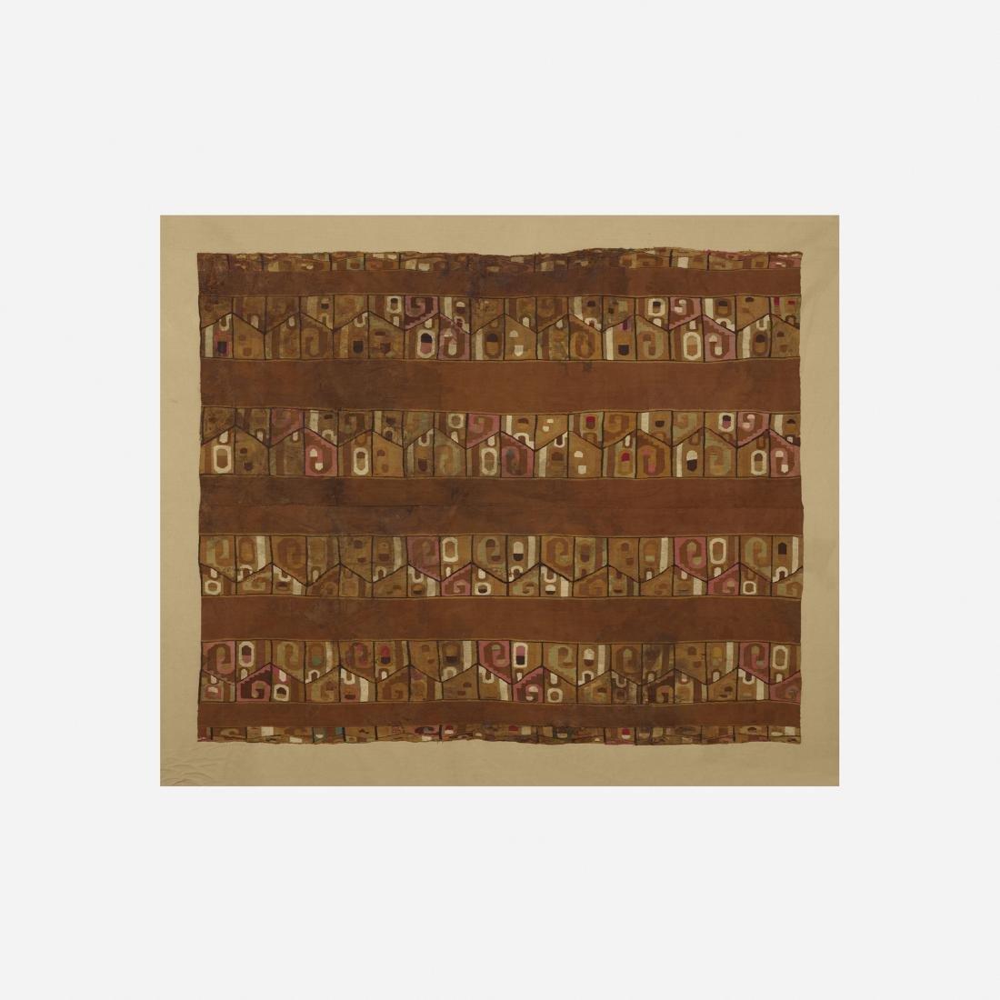 Peruvian, Wari textile