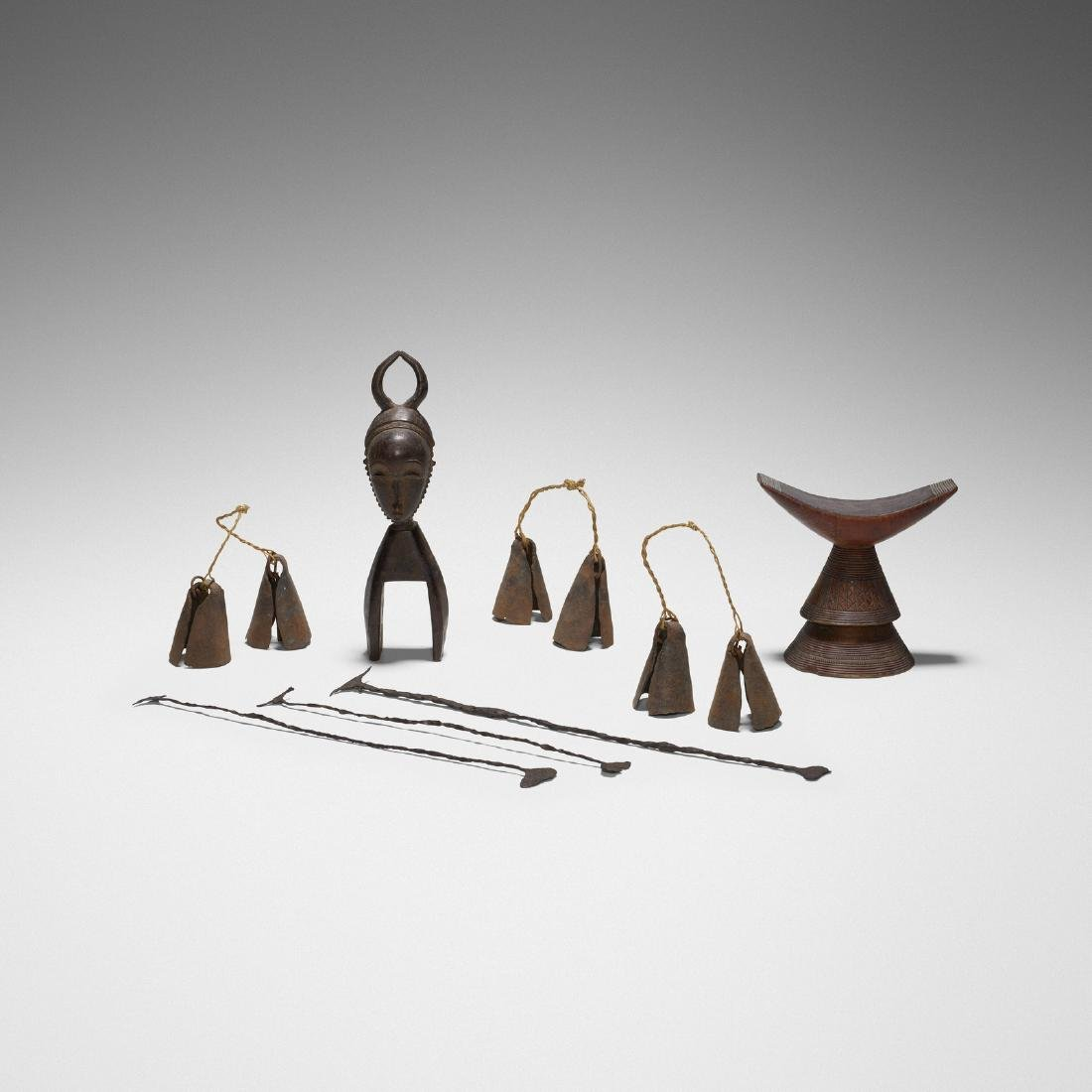 African, collection of artifacts
