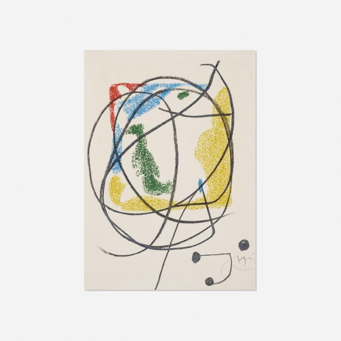 Joan Miro, Les Essencies de la Terra (one plate)