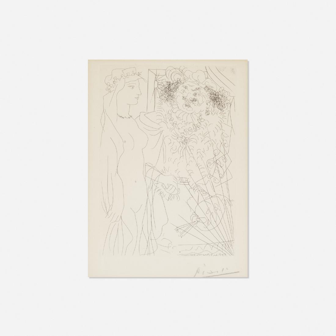 Pablo Picasso, Rembrandt et Femme au Voile