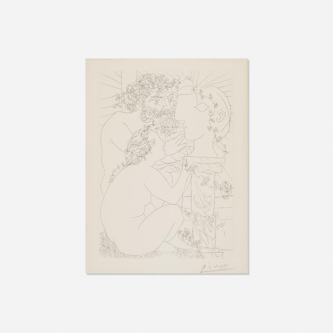 Pablo Picasso, Sculpteur, Modele accroupi et Tete