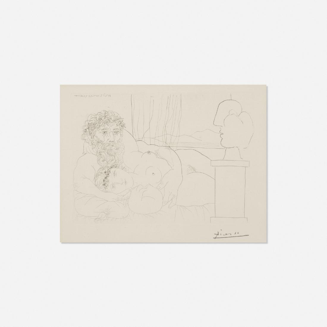 Pablo Picasso, Le Repos de Sculpteur, I