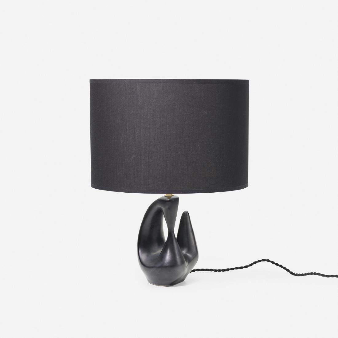 Georges Jouve, table lamp