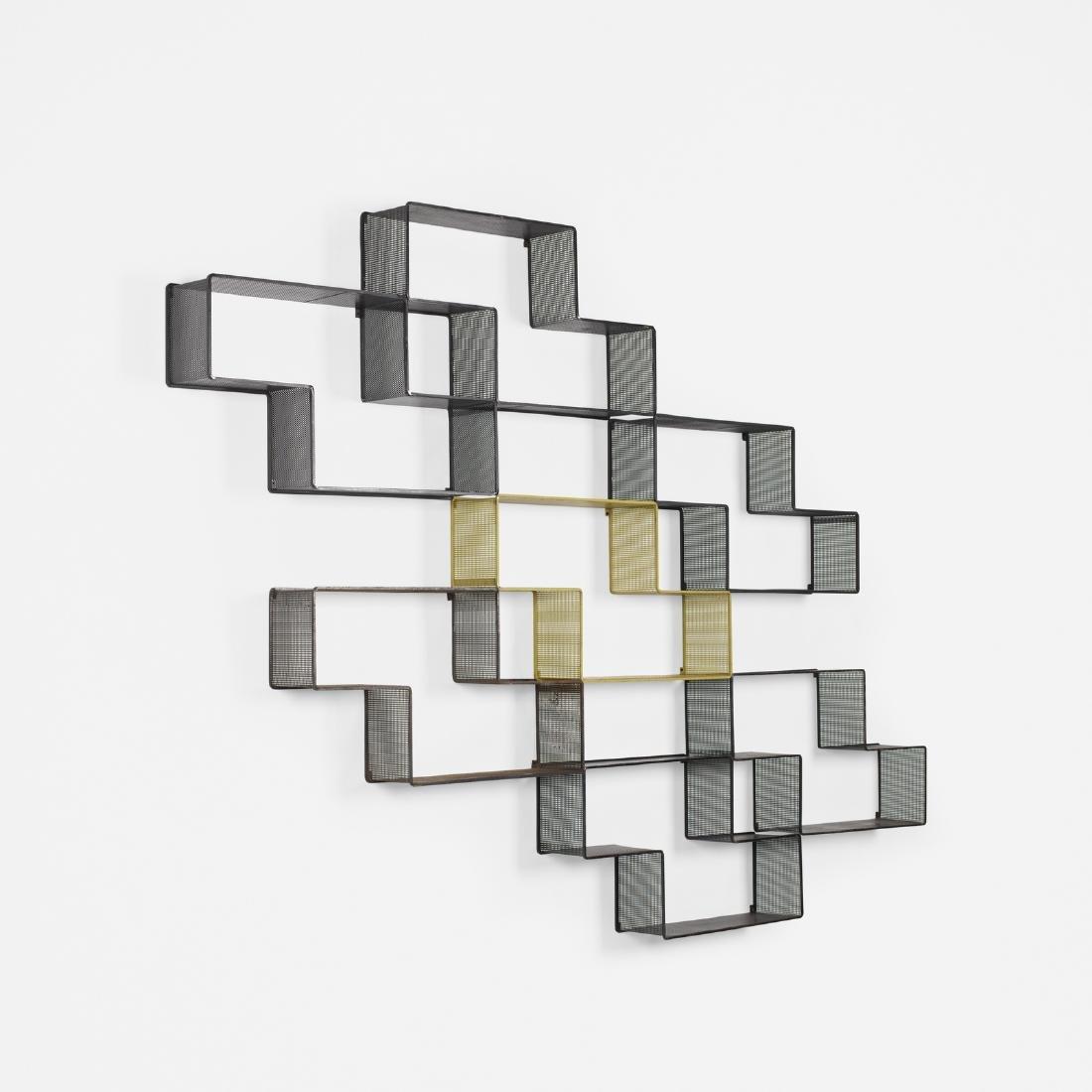 Mathieu Mategot, Dedal shelves, set of seven