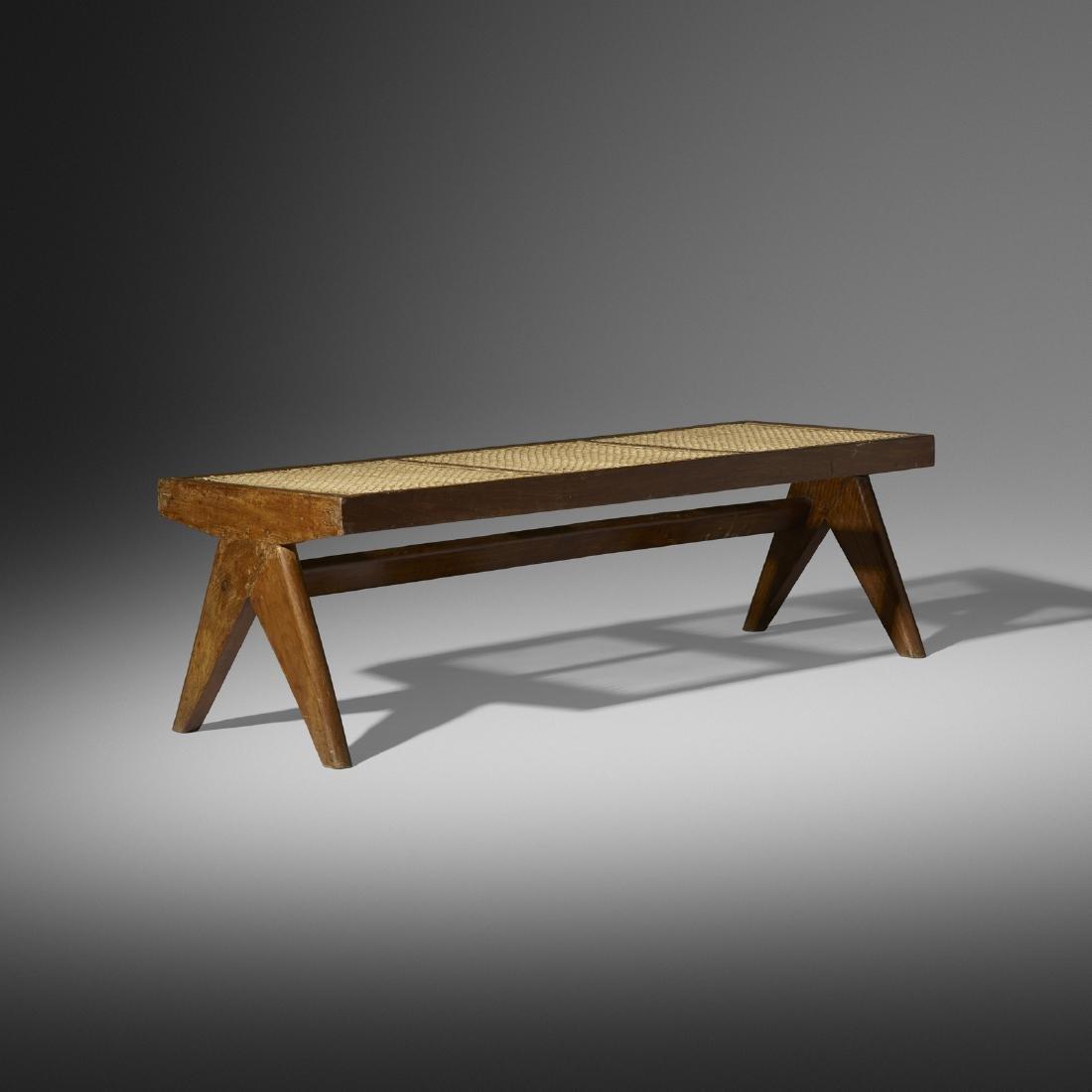 Pierre Jeanneret, bench from Chandigarh