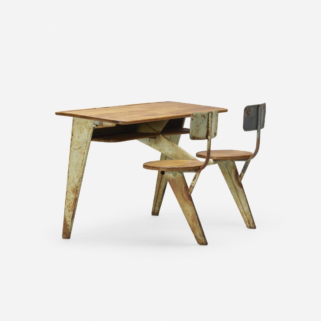 Jean Prouve, school desk