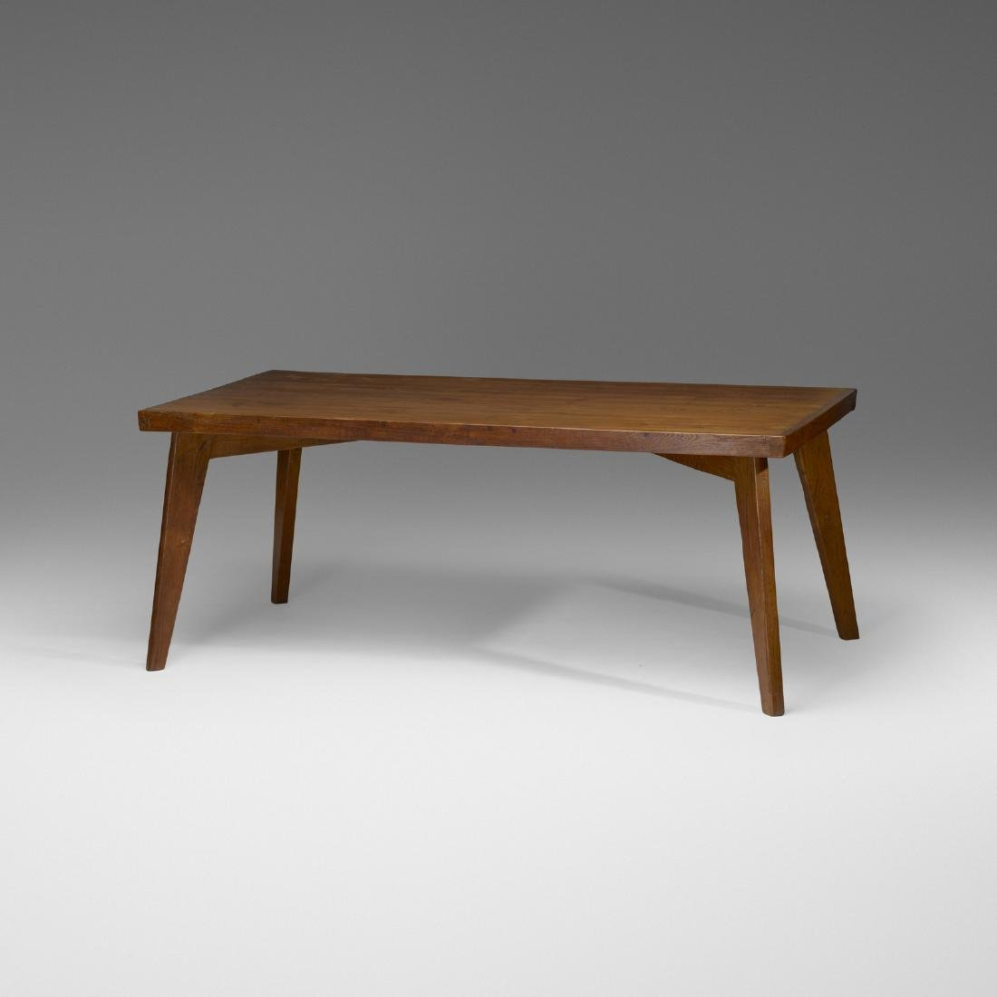 Pierre Jeanneret, dining table from Chandigarh