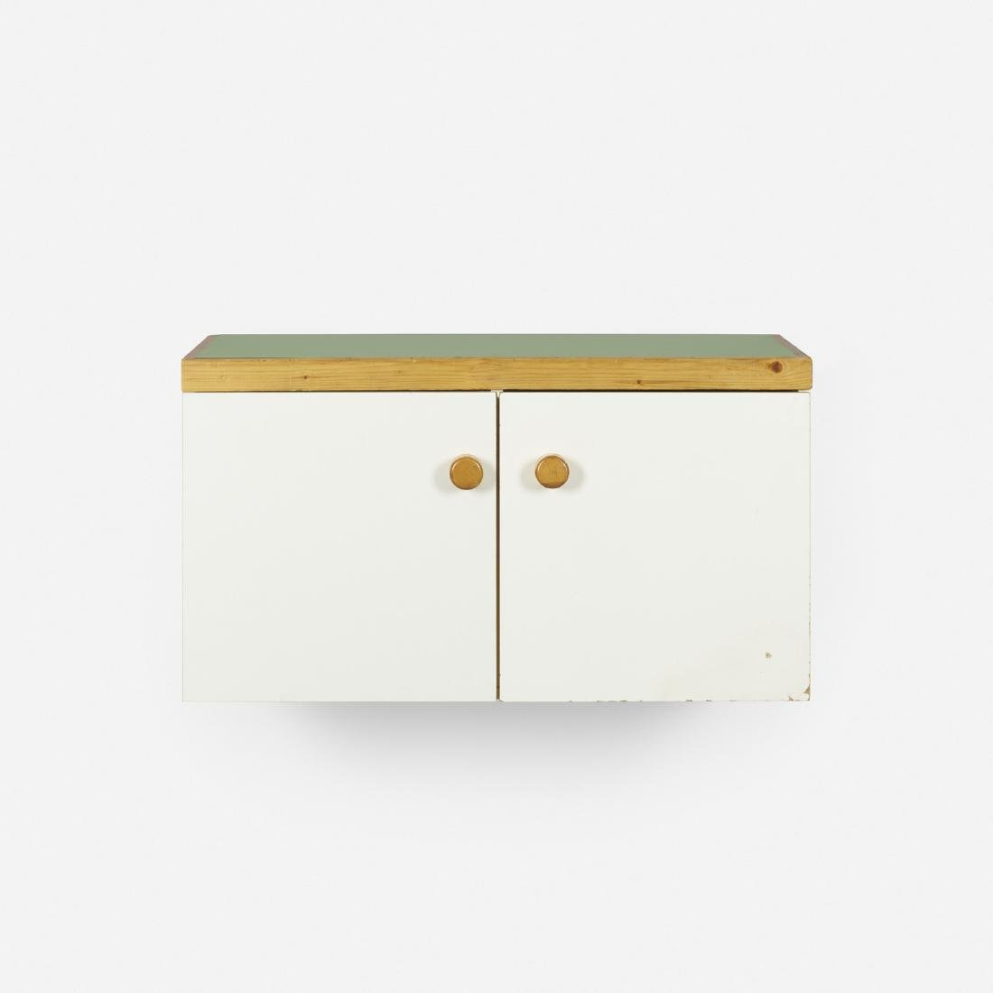 Charlotte Perriand, wall-mounted cabinet, Les Arcs