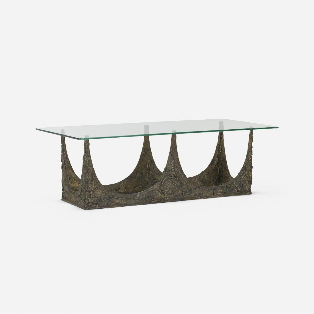Paul Evans, Sculpted Bronze coffee table