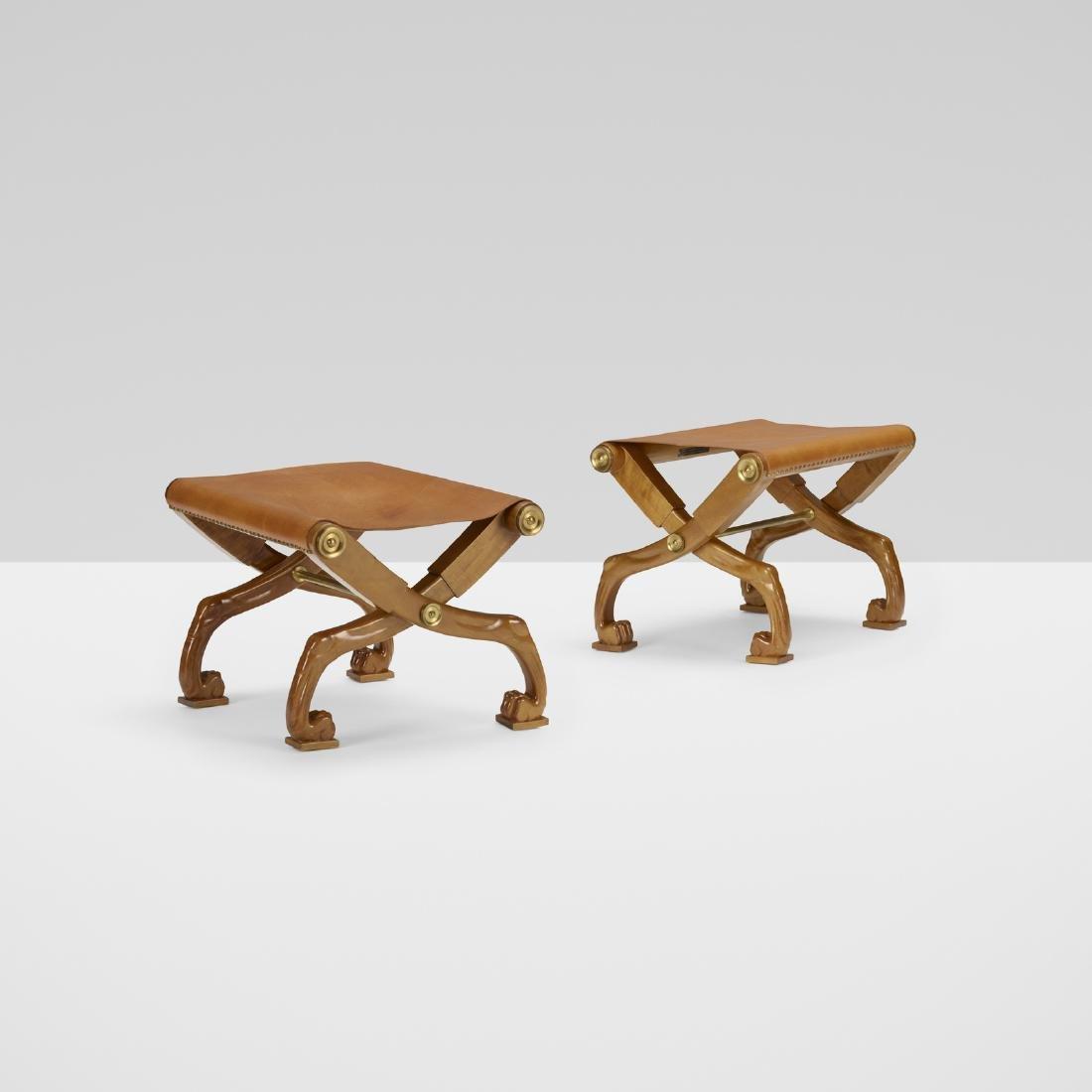 T.H. Robsjohn-Gibbings, Diphros Okladias folding stools