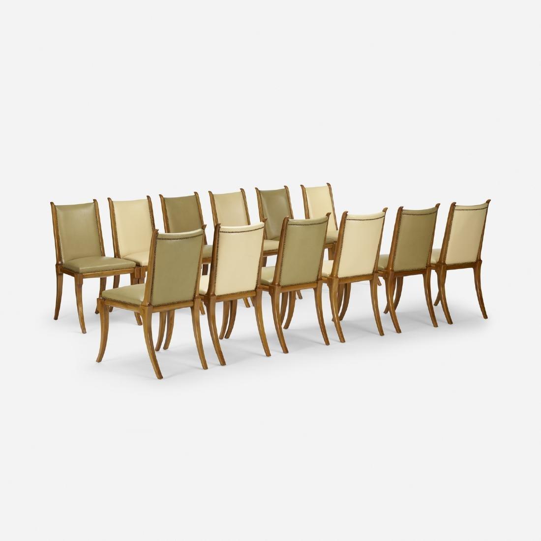 T.H. Robsjohn-Gibbings, dining chairs model no. 105