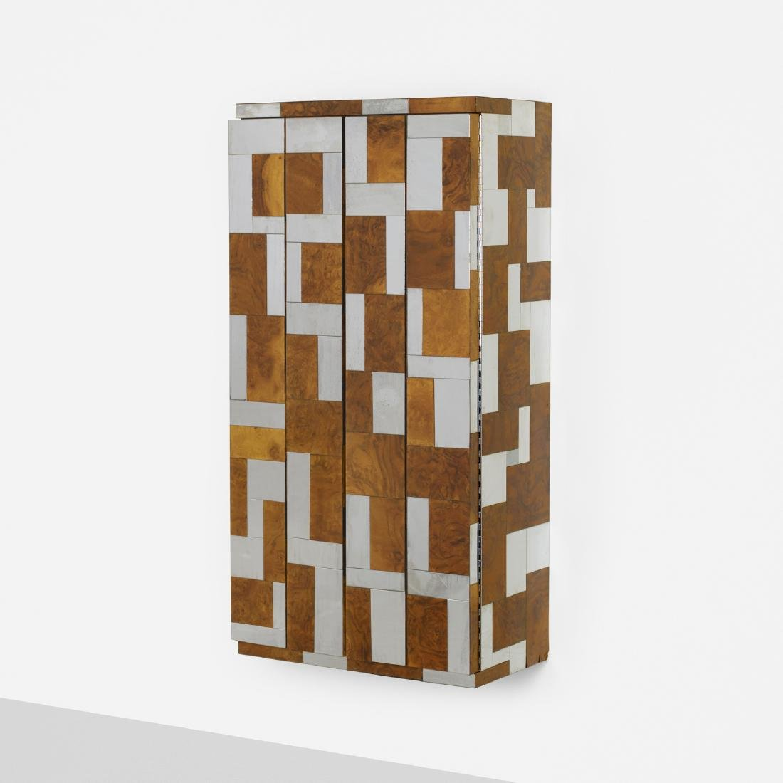 Paul Evans, wall-mounted Cityscape cabinet, PE 400