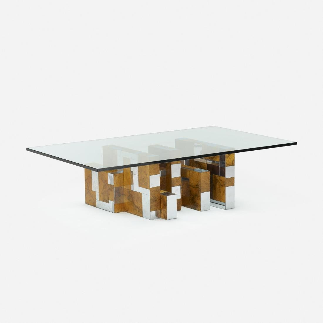 Paul Evans, Cityscape coffee table, PE 400