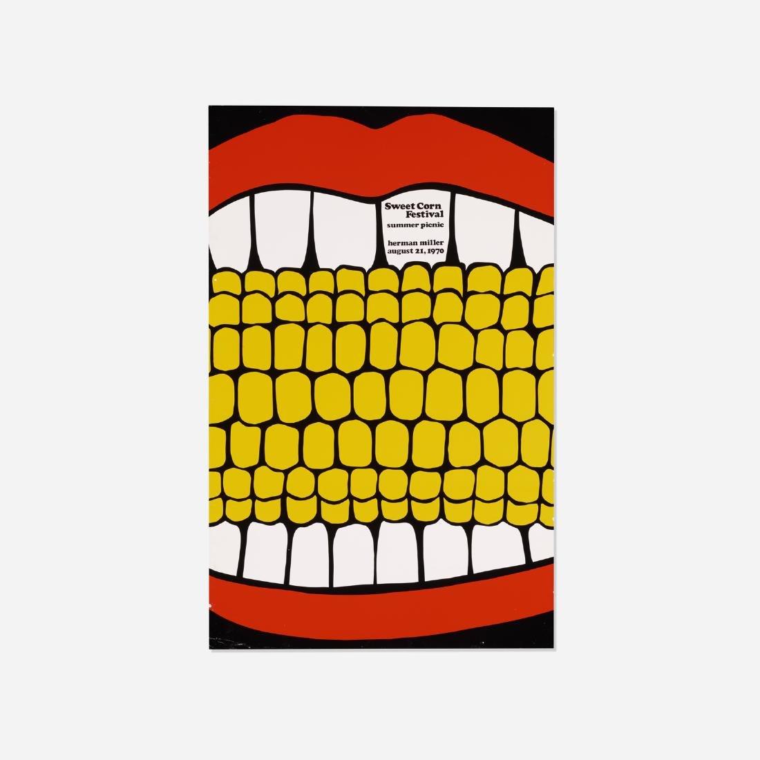 Stephen Frykholm, Herman Miller Summer Picnic poster
