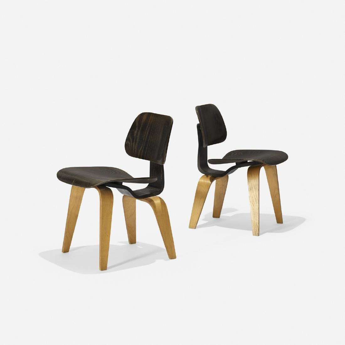 Charles and Ray Eames, DCWs, pair