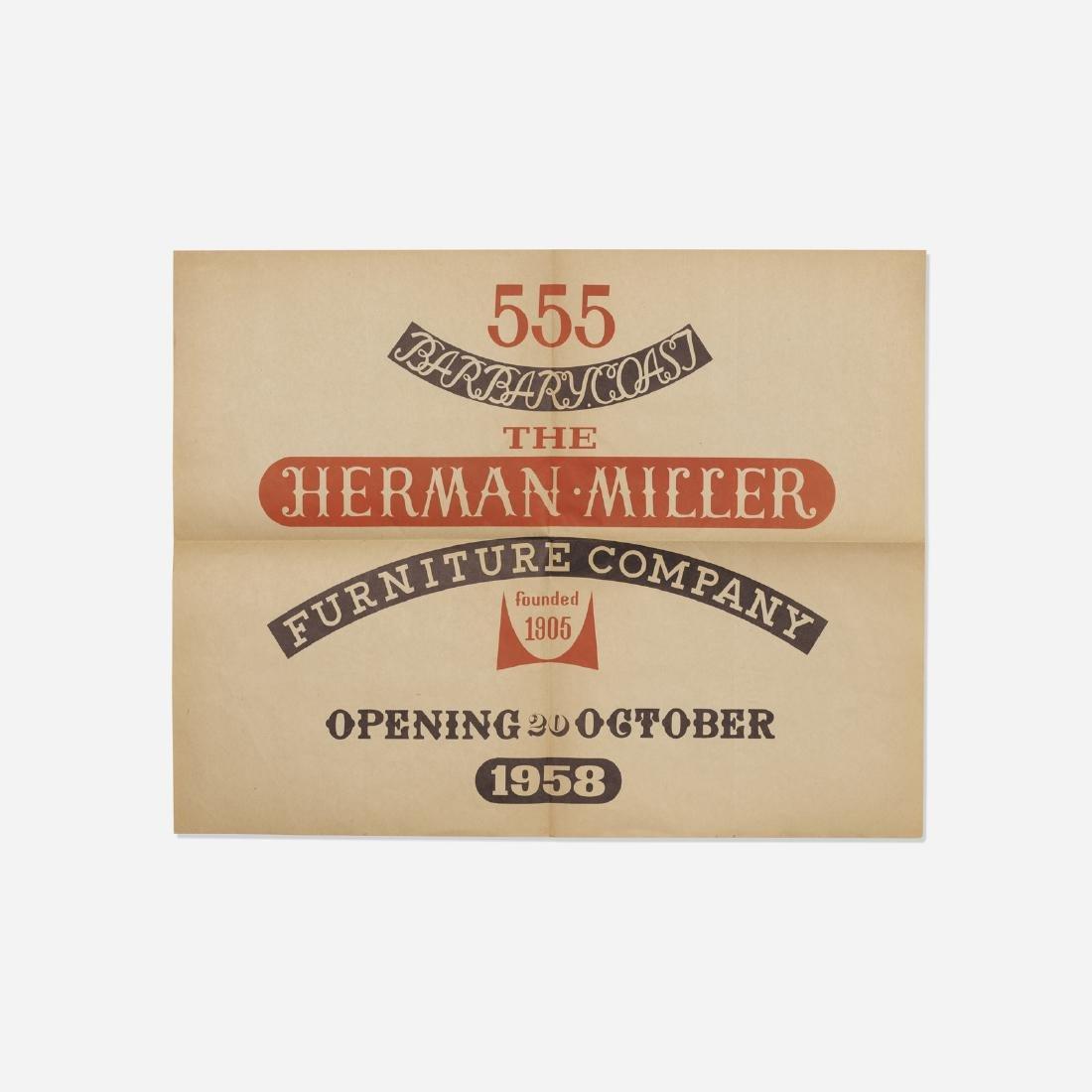 Alexander Girard, poster, Herman Miller, San Francisco