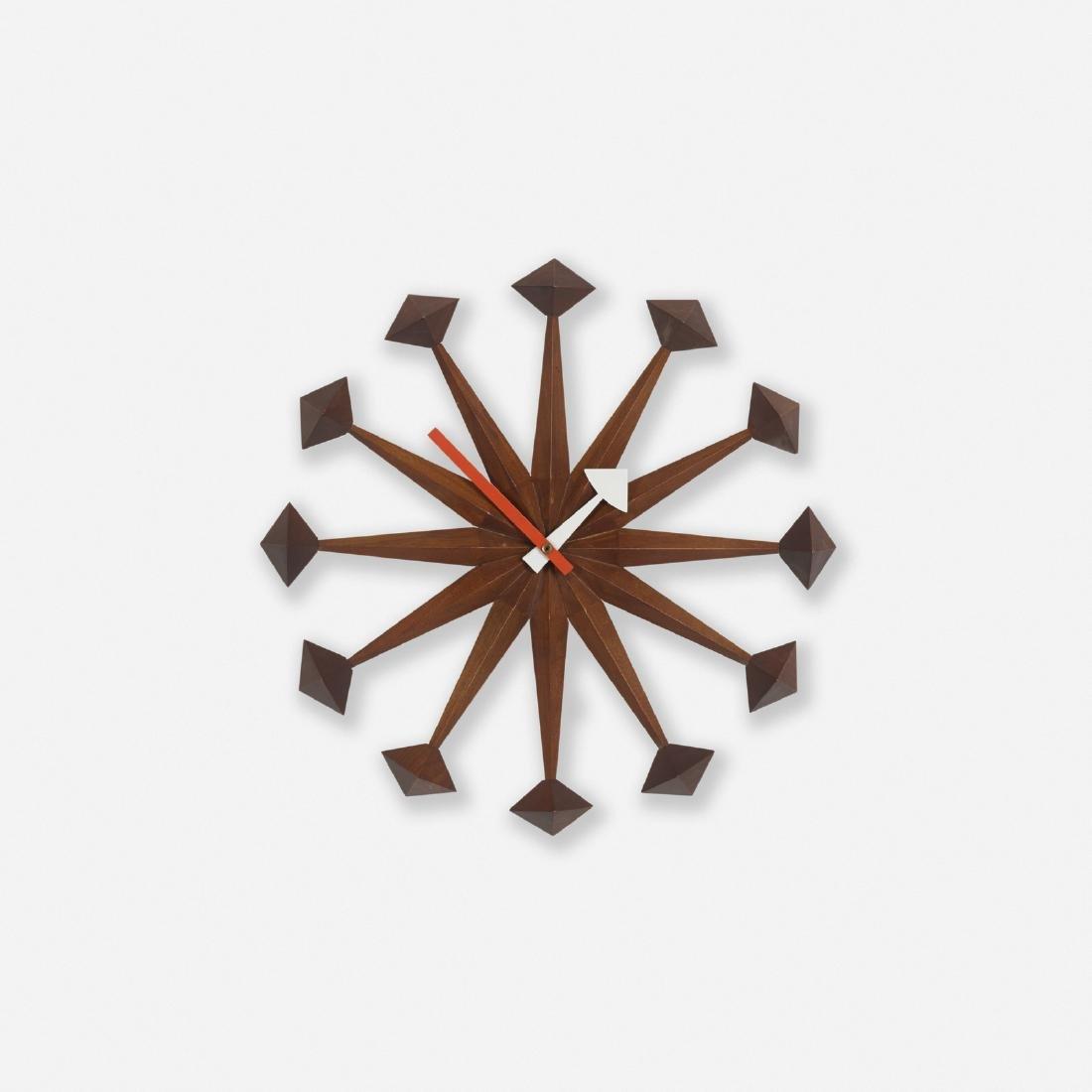 George Nelson & Associates, Diamond Points clock, 2293