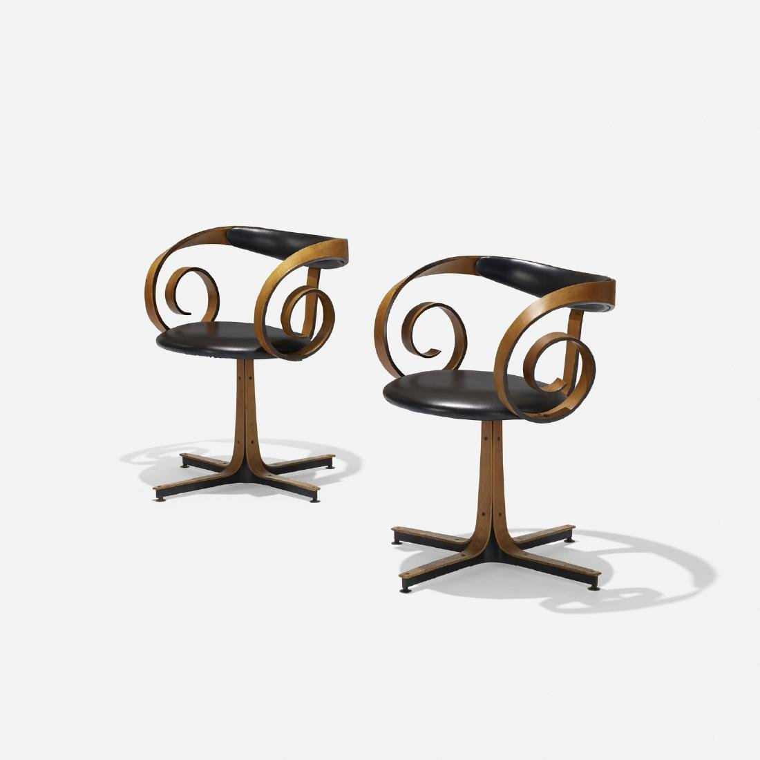 George Mulhauser, Sultana chairs, pair