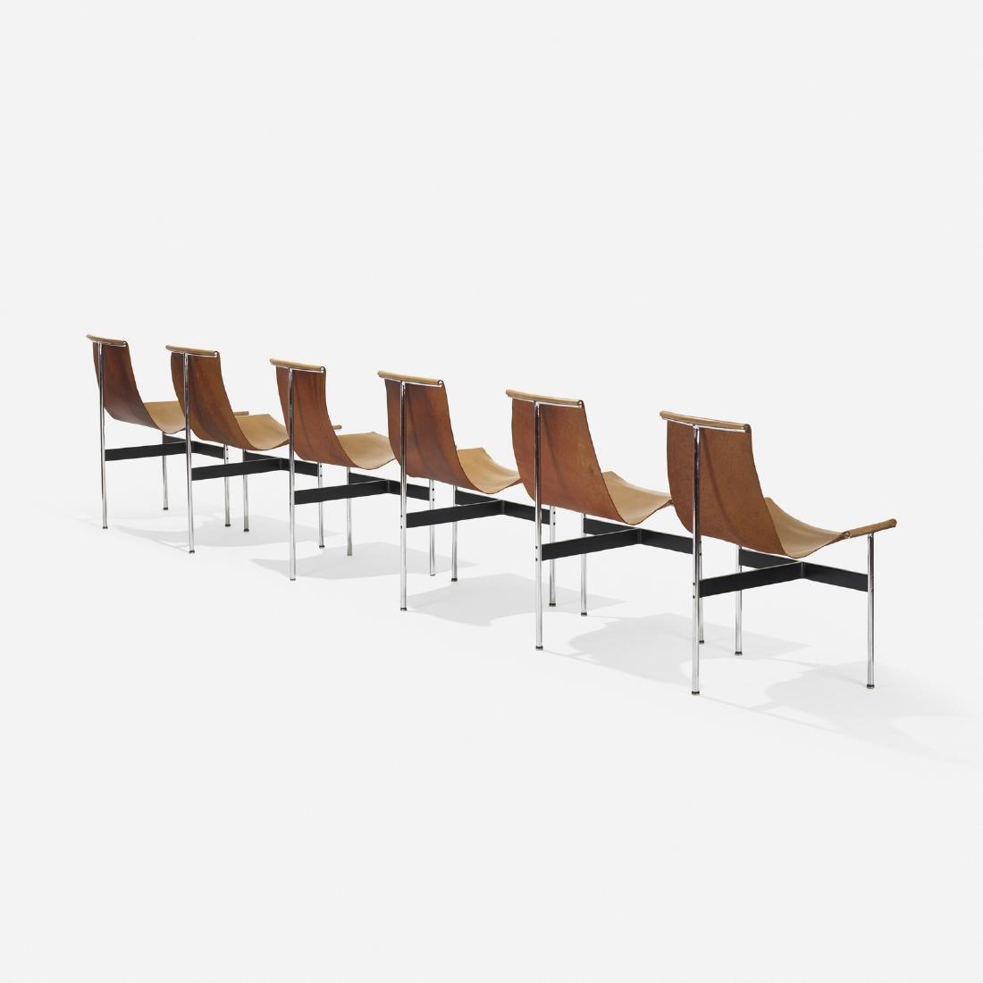 William Katavolos, Littell & Kelley, six T-chairs 3-LC