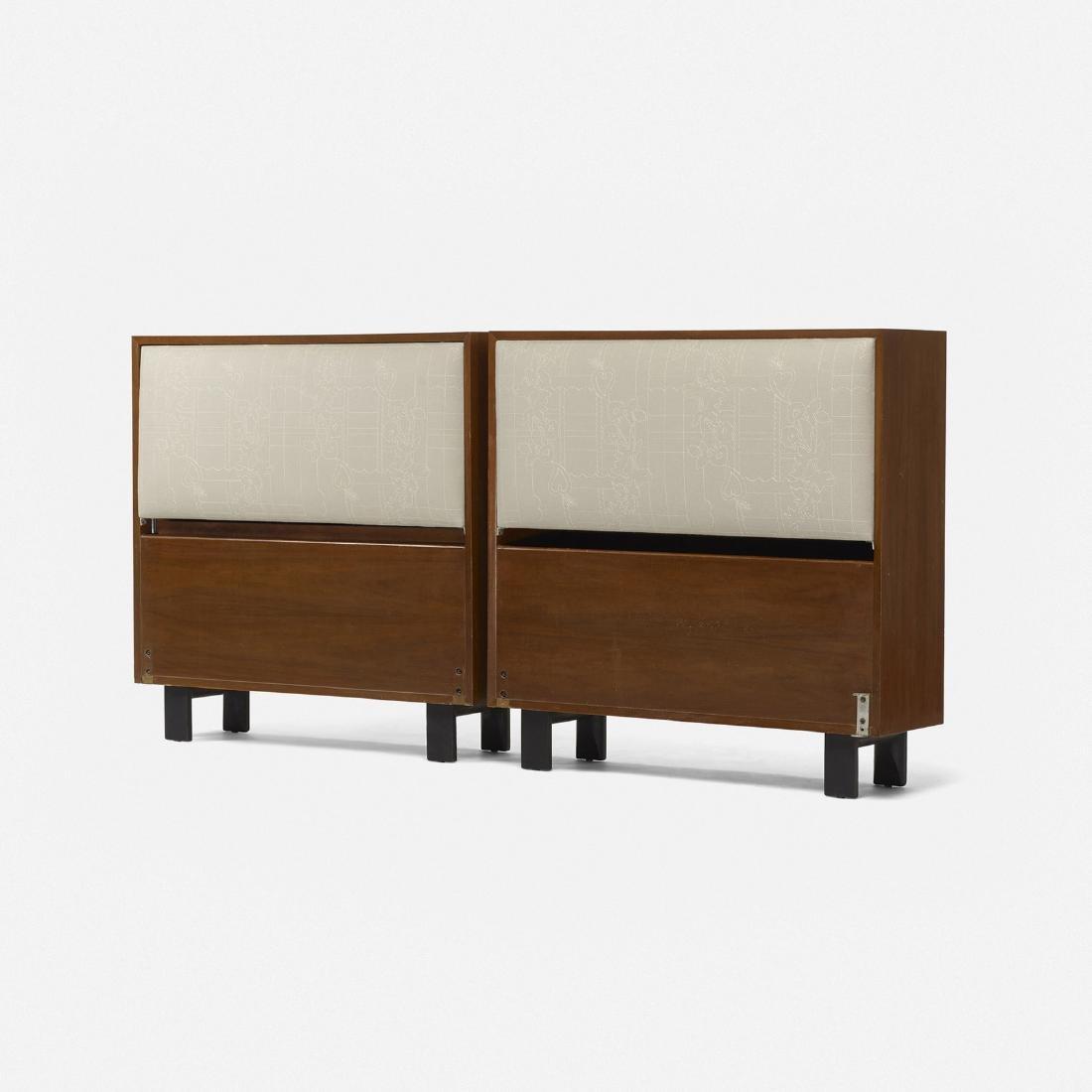George Nelson & Associates, twin-sized headboards 4646