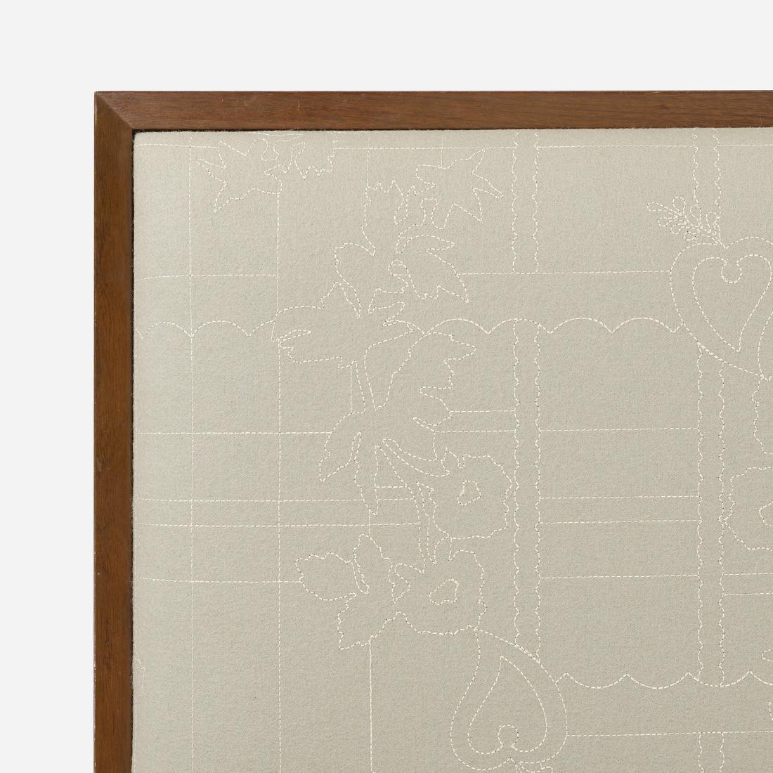 George Nelson & Associates, twin-sized headboards 4646 - 4