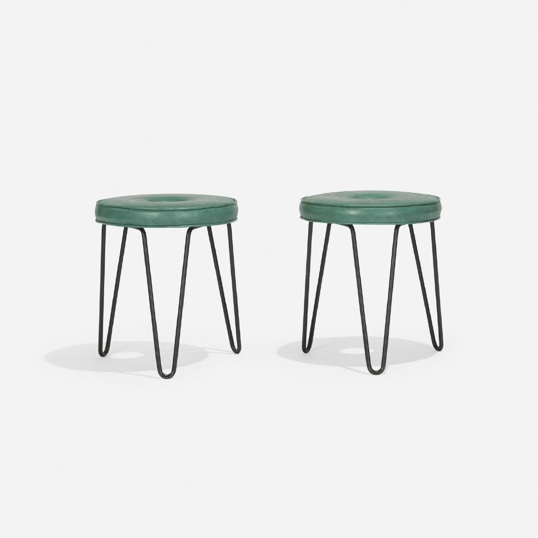 American, stools, pair