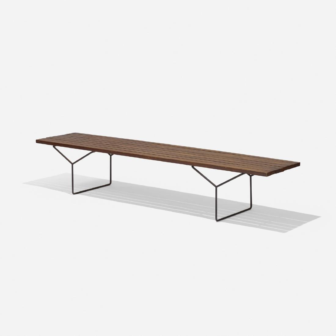Harry Bertoia, bench