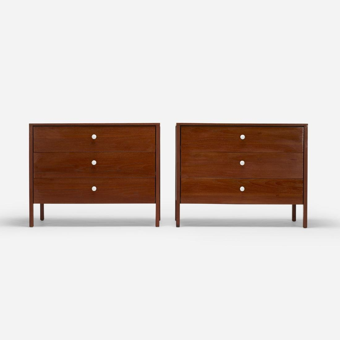 Florence Knoll, cabinets, pair