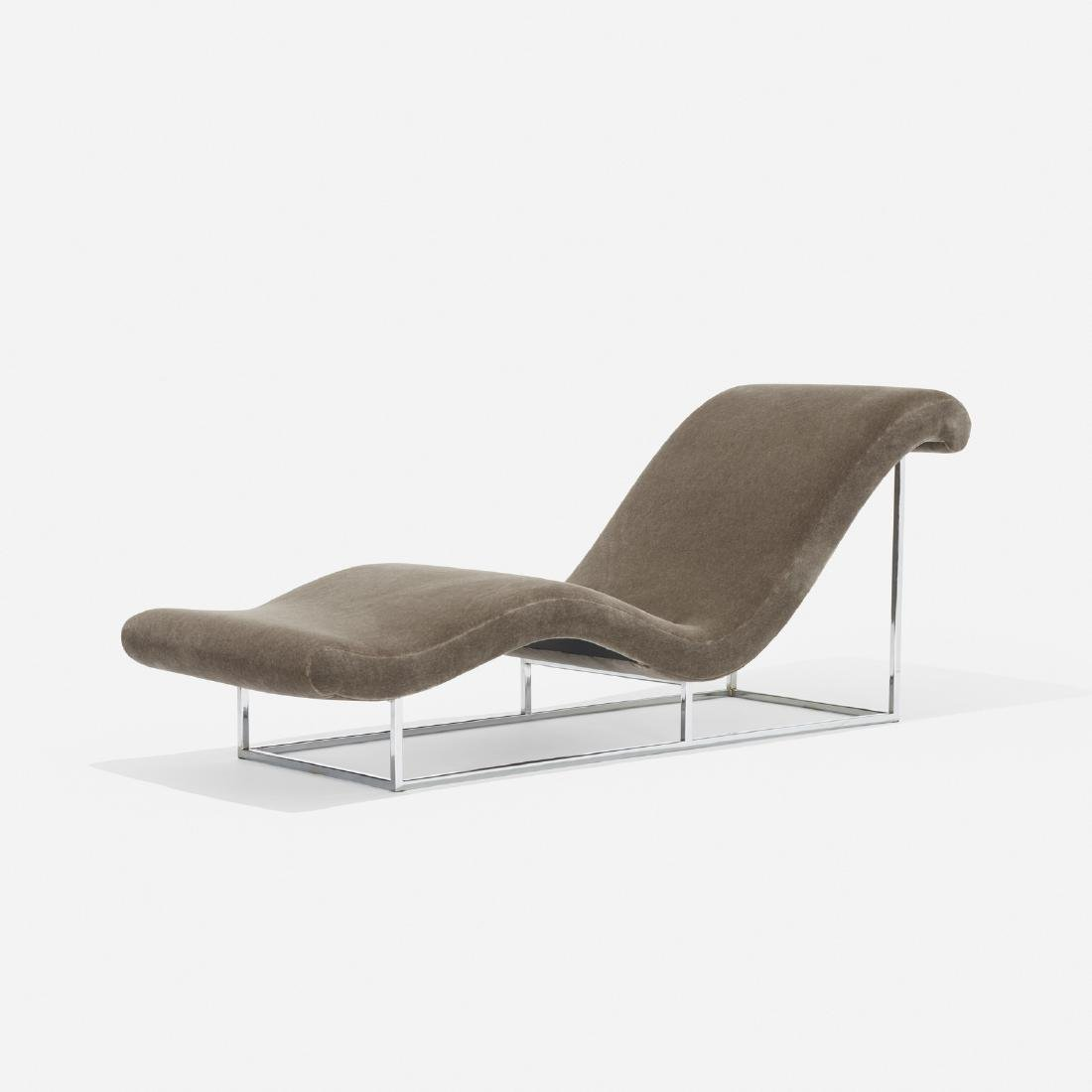 Milo Baughman, chaise lounge
