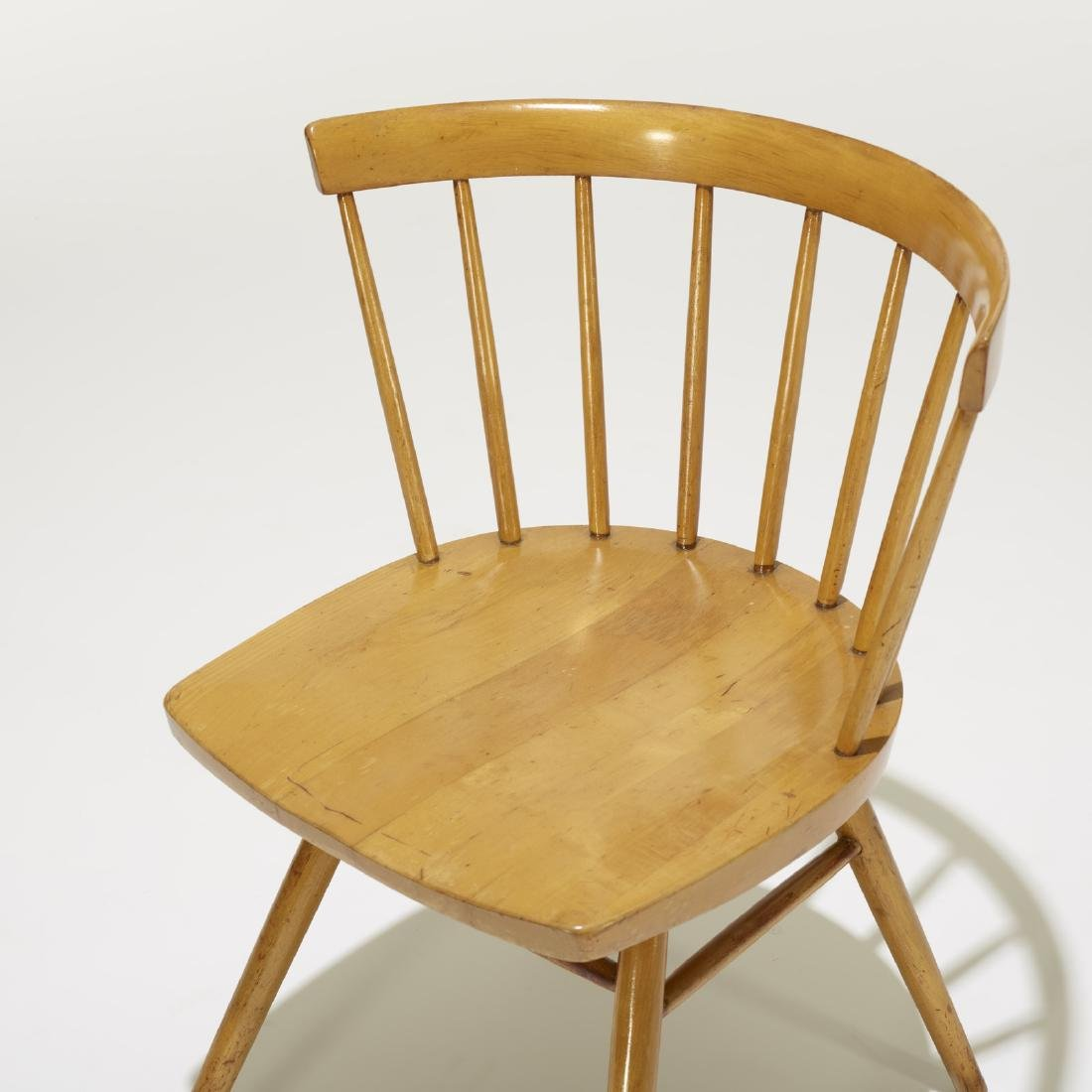 George Nakashima, dining chairs model N19, set of four - 3